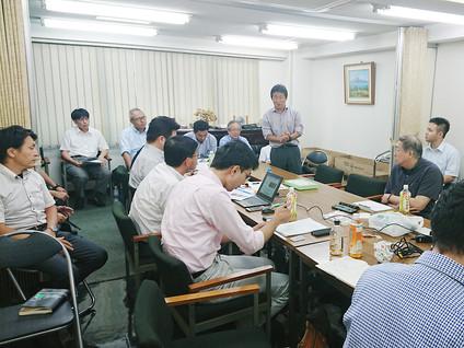 2018/08/22 第6回定期理事会・第5回合同委員会を開催しました