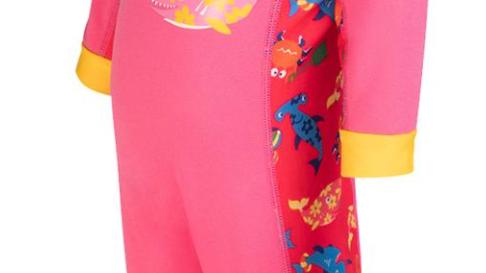 Splashy Swimsuit pink/yellow