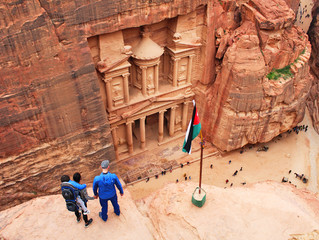 TRAVELING TO JORDAN WITH A LITTLE INDIANA JONES ON YOUR SIDE IS A GREAT ADVENTURE!