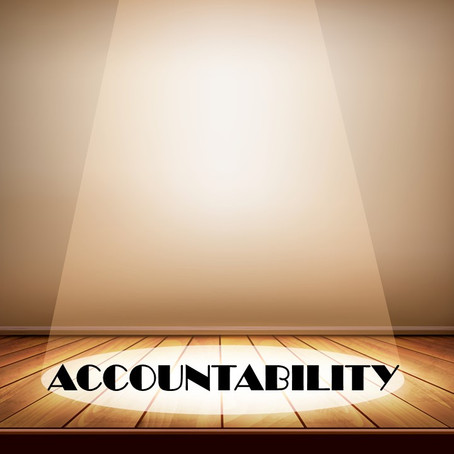 LAYING THE FOUNDATION FOR HOLDING PEOPLE ACCOUNTABLE