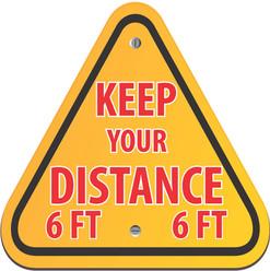 Keep Distance Triangle
