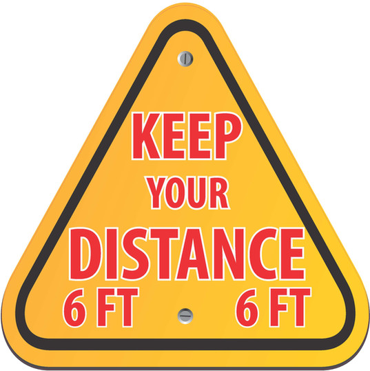Keep Distance Triangle