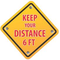 Keep Distance Diamond
