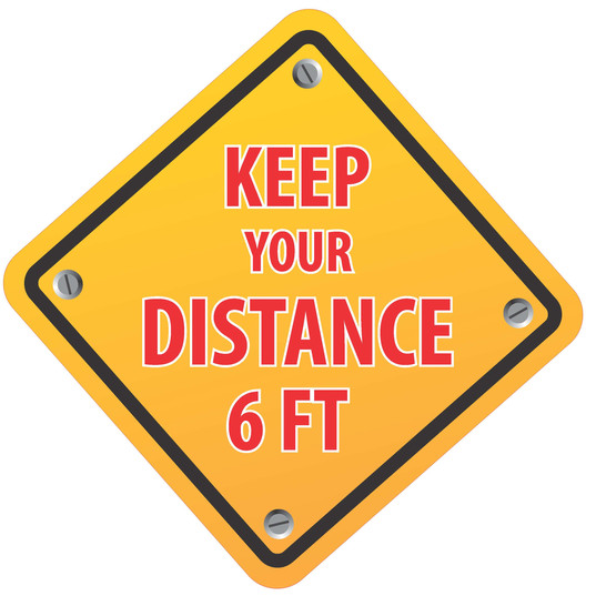 Keep Distance Diamond