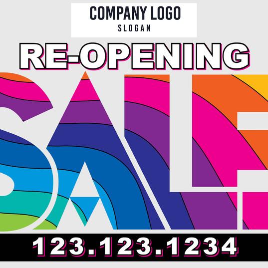 Re-Open Sale 1