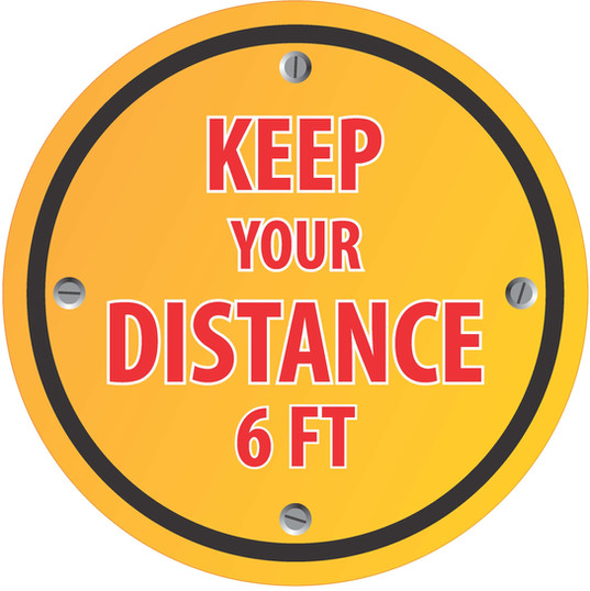Keep Distance Circle