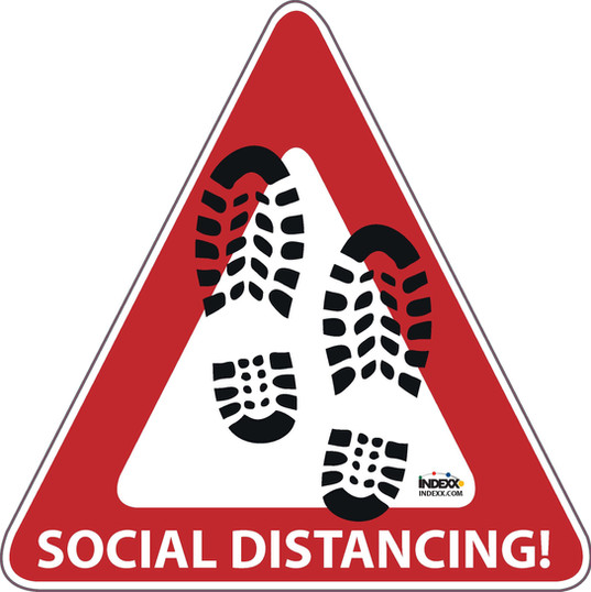 Triangle Social Distancing