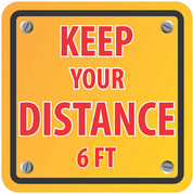 Keep Distance Square