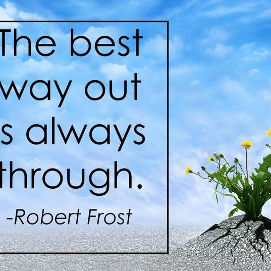 Inspirational - Robert Frost