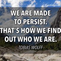 Inspirational Tobias Wolff