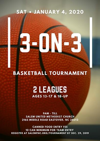 January 2020 3-on-3 Basketball Tournamen