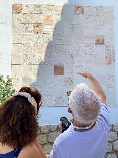 Mural de cerámica