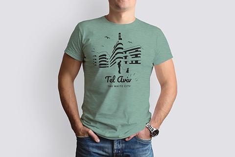 T-shirt dark | Gold Green | New collection 2021
