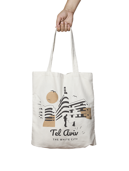 Tote bag | gold and black