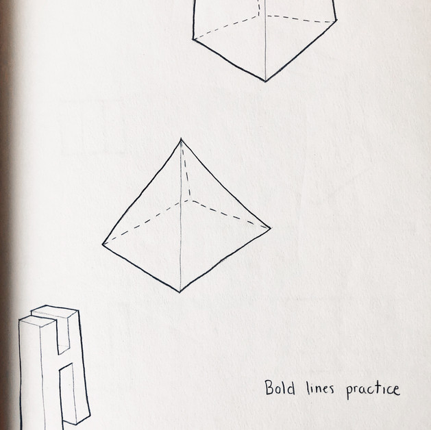 Bold Line Practice