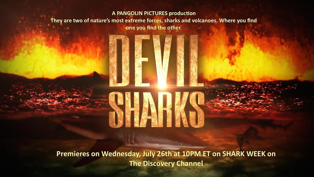 Underwater Cameraman Duncan Brake Filmed Devil Sharks