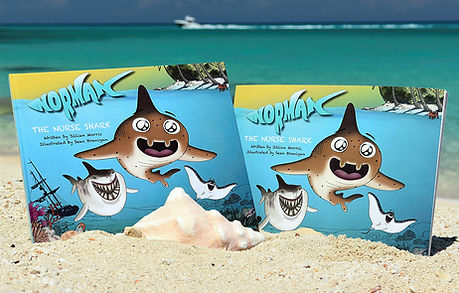 Sharks4kids, Jillian Morris, Shark book,