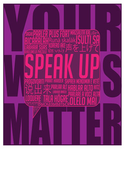 Anti Bullying Typography