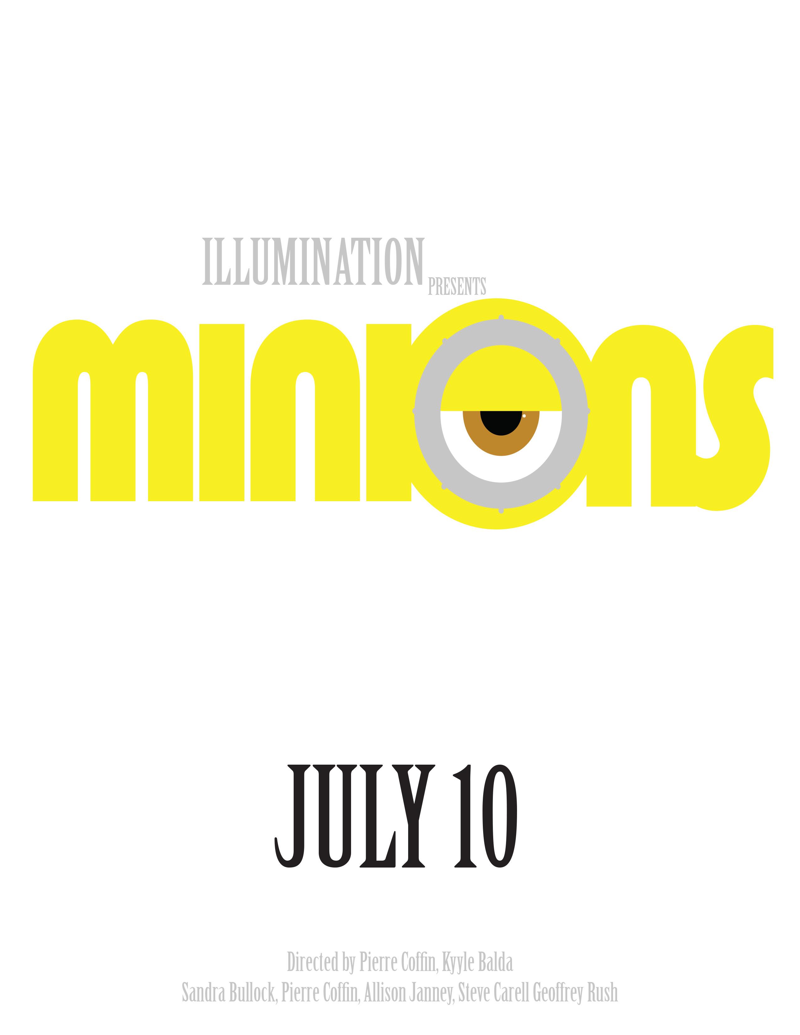 Minions Movie Poster copy