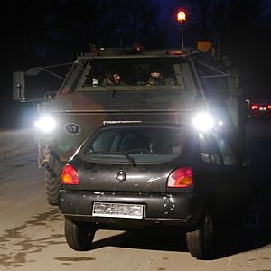Übung mit der Bundeswehr