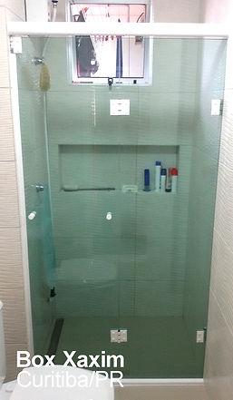box para banheiro articulado sanfonado vidro verde curitiba