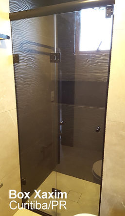 box para banheiro articulado sanfonado vidro fume curitiba