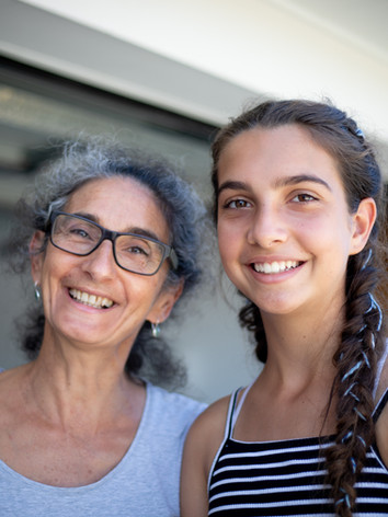A Mother and Daughter arrive for a Spa Package