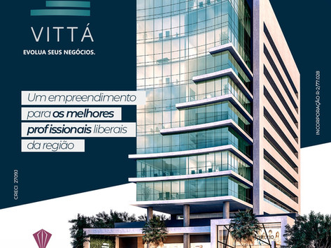 Vitta empresarial, é um exclusivo empreendimento para os melhores profissionais liberais.