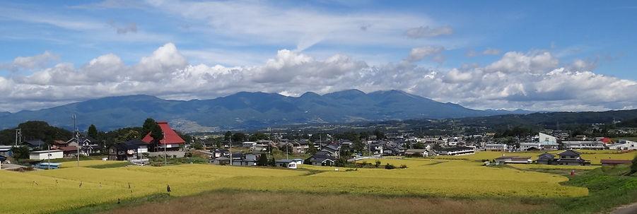 立科町の風景