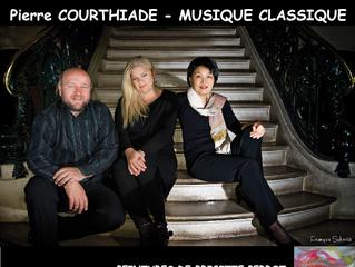 """Musique Classique du """"Trio des Volcans"""" au Moulin le vendredi 4 Mai 2018 !"""