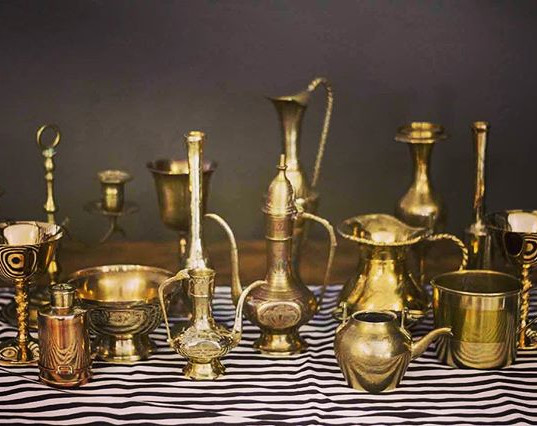 Assorted Brassware, 15 Pieces (R350)