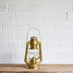Old Gold Parafin Lantern (R20)