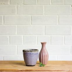 Ceramic Purple Pots (R15)