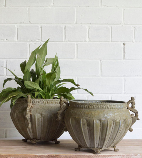 vintage metal planter.jpg