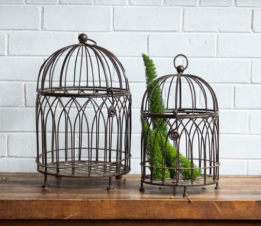 Cast Iron Bird Cages (R40)