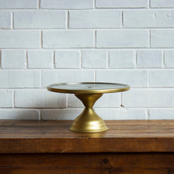Gold Cake Stand 45cm (R30)