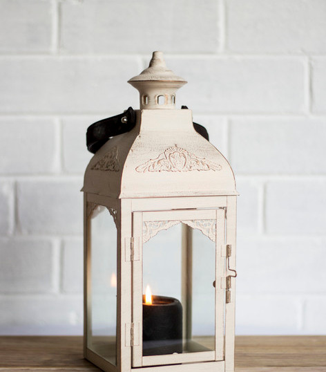 Off White Vintage Lantern (R40)
