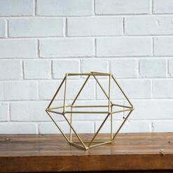 Old Gold Geometric 30cm (R40)