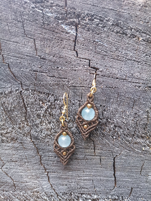 Aquamarin earrings