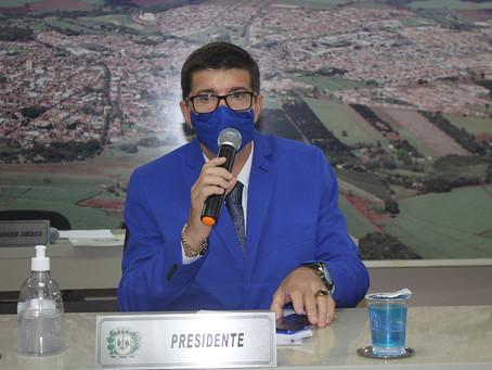 Cleber Bicicletaria é eleito presidente da Câmara Municipal de Jardinópolis