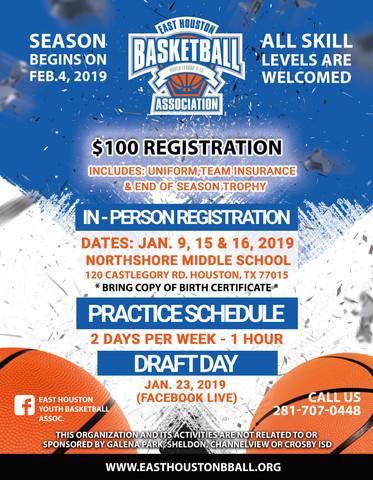 East Houston Basketball Flyer2- 12-14-18