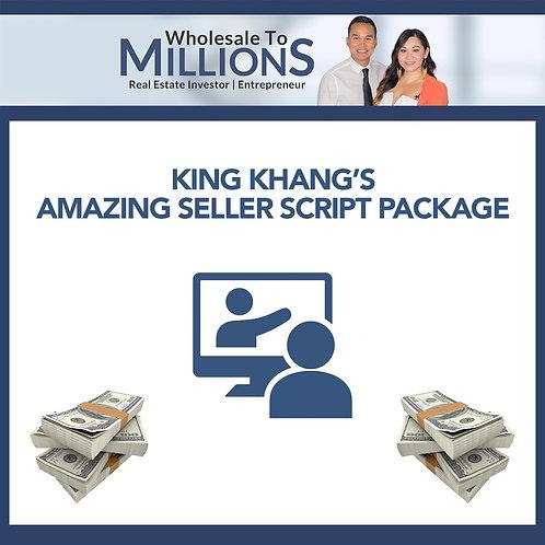 King Khang's Amazing Seller Script Package