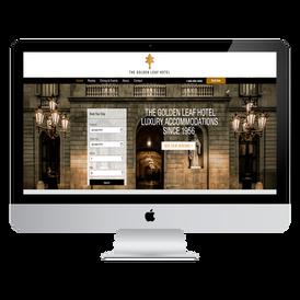 Sample of Hotel Website