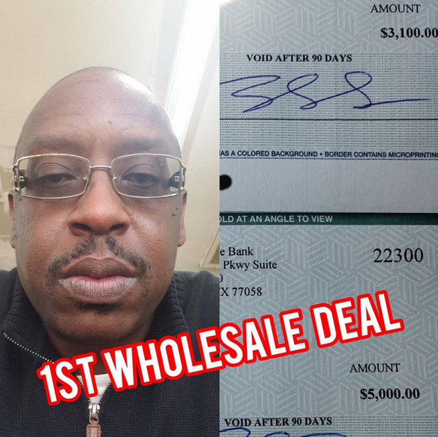 Keith: First Time Wholesaler