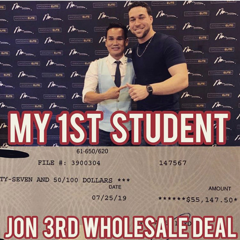 Jon: First Time Wholesaler