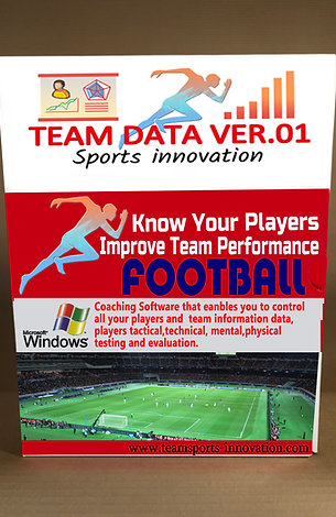 Team Data Ver.01 Football