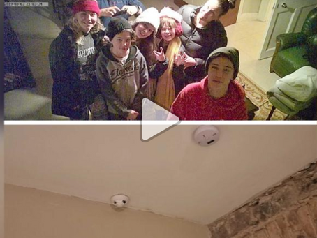 Family finds hidden camera livestreaming from their Airbnb in Ireland. Products for prevention.