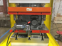 iES designs and manufactures press dies used to flatten, pierce, and form tubular components.