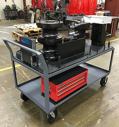 Large Bend Tool Cart