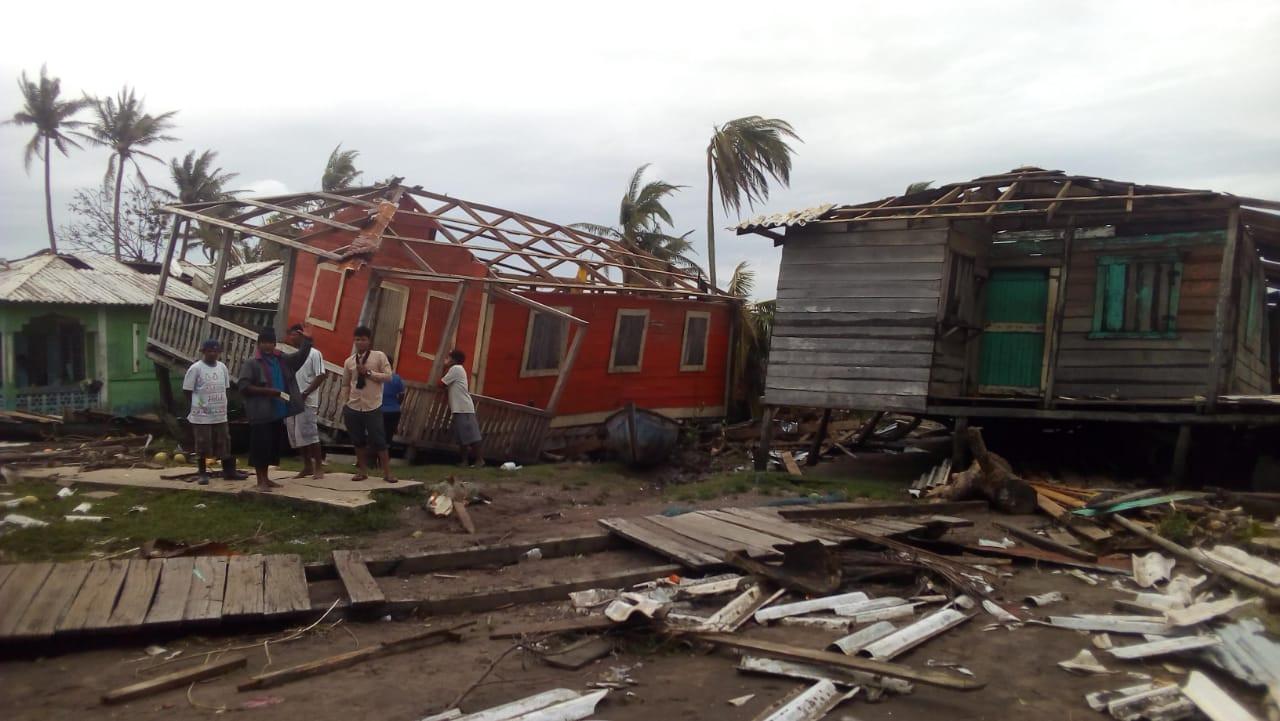 Hurricane Devastation in Nicaragua 2